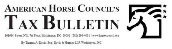 AHC Tax Bulletin